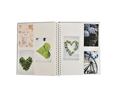 Large Self Adhesive Photo Album Hold Various Sized Picture Up to A4 Purple 7
