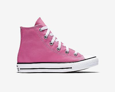 f5ac52e7c11f ... CONVERSE Chuck Taylor All Star Hi Top Pink Shoes Youth Kids Girls  Sneakers 3J234 2