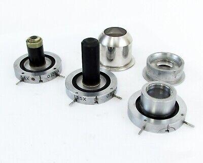Lot of Bausch & Lomb - Vintage Camera/Microscope Objective Lens & Eyepiece 4