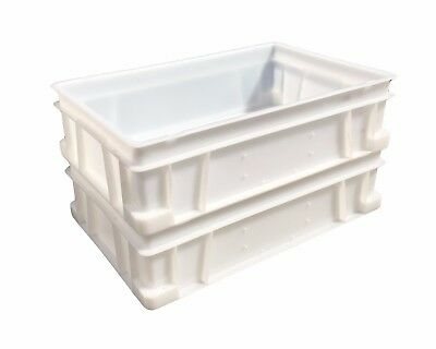 Plastic Stacking Food Grade Deep Food Catering Euro Box Tray Commercial Quality! 2