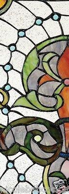 Belle Epoch Estate Manor Iris  Stained Glass Window 4