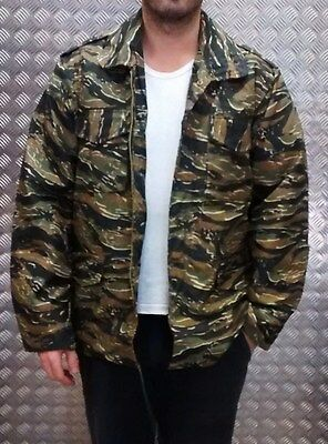 Military Style IDF Lined Combat Parka Dobon Green MOD Size Large Scooter