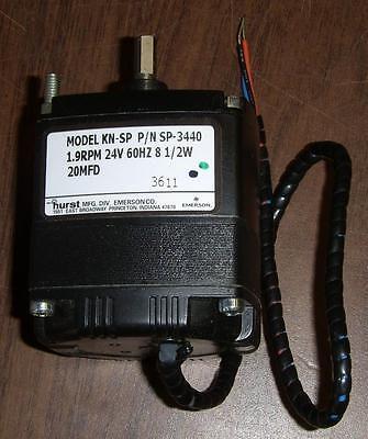 Hurst Emerson 30 RPM Model AB-SP-2687 24V 60HZ 5W 10MFD 2301