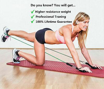 Resistance Bands Workout Exercise Yoga 11Pcs Set Crossfit Fitness Training Tubes 4
