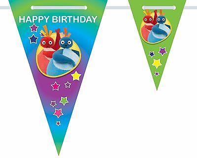 Personalised Raa Raa the Noisy Lion Birthday Bunting 3m-15 pendants name//age
