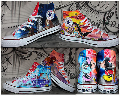 399cd8264211 ... airbrush converse chucks allstars custom graffiti Style Fashion Sneaker  painted 7