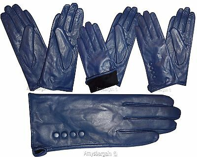 Leather gloves. Size S, M, L, XL. Woman's Leather  winter Gloves. Dress Gloves. 11
