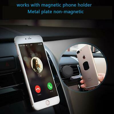 4 Pack Universal Mount Metal Plate with 3M Adhensive for magnetic phone holder 4