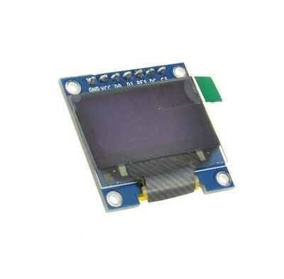 "5PCS 3-5V 0.96"" SPI Serial 128X64 OLED LCD LED Display Module blue yellow 2"