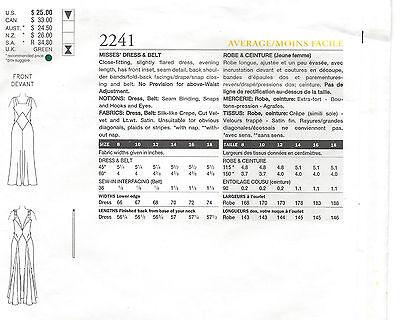 1931 VINTAGE VOGUE-SCHNITTMUSTER Brustumfang B36 \