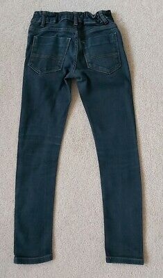 Next Boys Blue Skinny jeans Age 10 Years In Good Condition As Shown 2