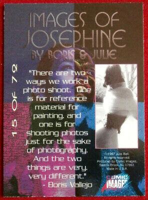 IMAGES OF JOSEPHINE - Individual Card #15 - Comic Images - Fantasy Art - 1997 2