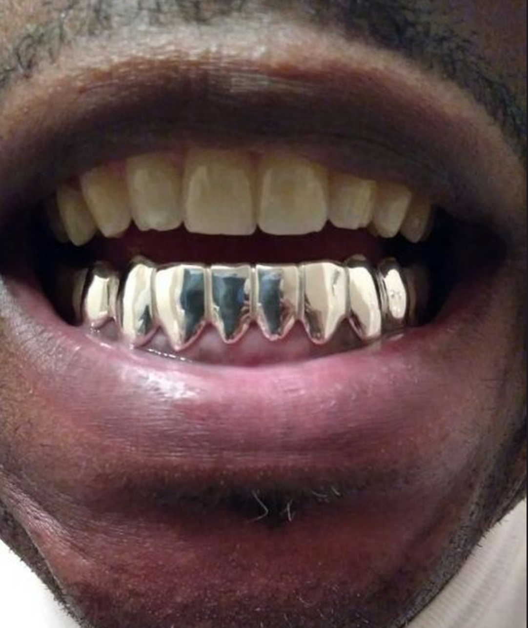 925 Sterling Silver Custom fit Handmade Grillz Plain Silver teeth REAL Grill  5 5 of 5 See More 34c035e90