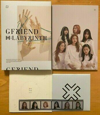 GFRIEND - LABYRINTH Official Album (Choose Ver. + Poster [folded]) [No PC] 4