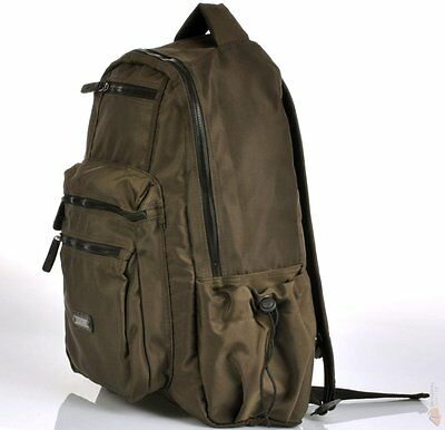 b7fe928ad6a ... CAMEL ACTIVE / Travel / bag / backpack / Schwarz / Khakki / Brand New 4