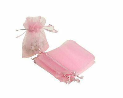 50/100 Organza Wedding Xmas Party Favor Gift Candy Bags Jewellery Packing Pouch 7