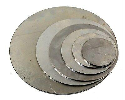 20mm Mild steel disc sheet plate round custom cut sizes circle blank