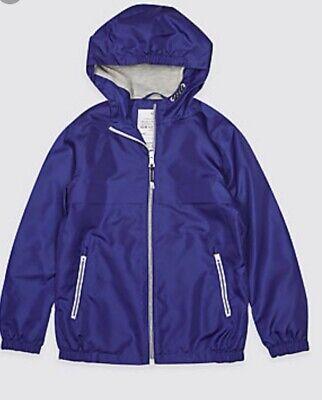 Packaway Jacket Mac Rain Coat Kids Boy Girl  NEW Ex M&S Age 3-16 Yrs Lightweight 8