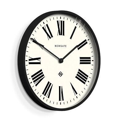 NEWGATE® CLOCKS Extra Large 53cm Black Roman Numeral Round Analogue Wall Clock 2