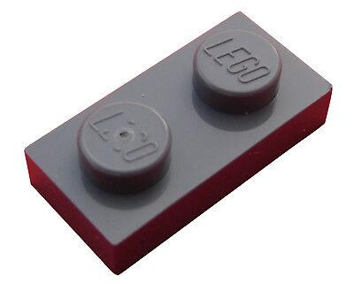 306 5x ®Lego Basic Platte Plate dünn 4x6 Neu-Dunkelgrau Dark Bluish Gray #3032