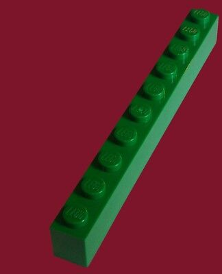 LEGO Bau- & Konstruktionsspielzeug LEGO Baukästen & Sets Lego Stein 1x10 grün 4 Stück »NEU« # 6111