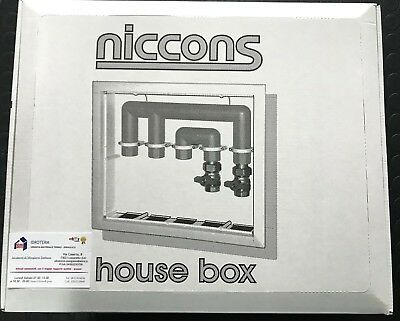 Cassetta Di Ispezione Niccons Per Collettore + Coperchio E Supporti Varie Misure 4