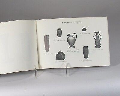 Hampshire Pottery catalog 28 page shape book 1971 reprint Arts & Crafts Keene NH 5