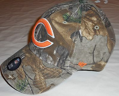 3972e6b57 ... Chicago Bears Realtree `47 Brand Men s Hat Cap One Size Camo Nfl Team  Headwear 3