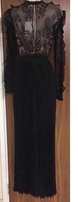 1e3f0915f0af3 ... SELF-PORTRAIT Moni Lace Pleated Dress Size UK 8 as seen on Princess  Madeleine 9
