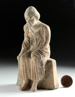 Greek Hellenistic Pottery Statuette of a Grotesque Lot 27A