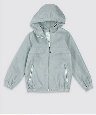 Packaway Jacket Mac Rain Coat Kids Boy Girl  NEW Ex M&S Age 3-16 Yrs Lightweight 7