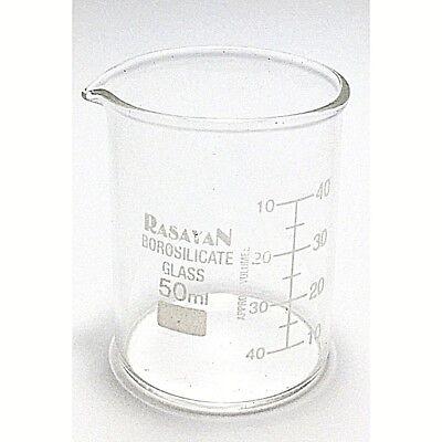 Glass BEAKER Graduated Low Form Research Grade Borosilicate, 6 sizes, 1/5/10 pcs 3
