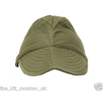 d2f16bd8540 ... French Army   Foreign Legion Combat Warm Weather Hat Green Satin peaked  Cap 2