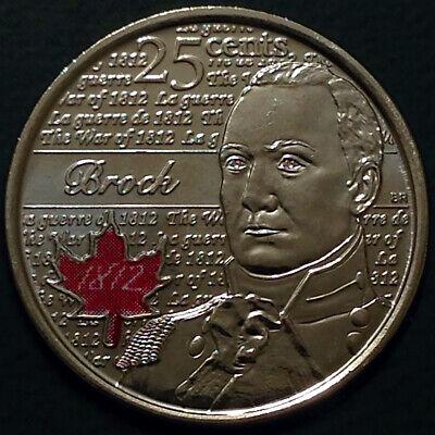 Canada 2012 / 2013 War of 1812 8 Commemorative 25 Cent Quarter Coin Set, UNC 8