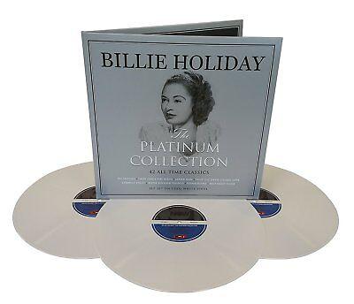 BILLIE HOLIDAY **Platinum Collection [White Vinyl] *NEW TRIPLE RECORD LP VINYL