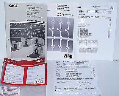 ABB SACE Novomax G3-S 2500A Air Circuit Breaker CB Interrupter ACB 4-Pole
