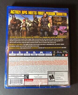 Borderlands [ Game of the Year Edition ] (PS4) NEW 2