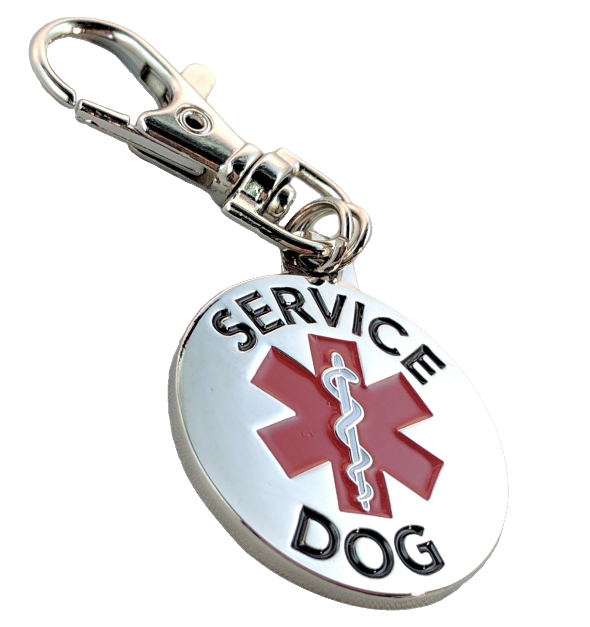 ALL ACCESS CANINE™ Service Dog Emotional Support Animal ESA Metal Dog Collar Tag 4