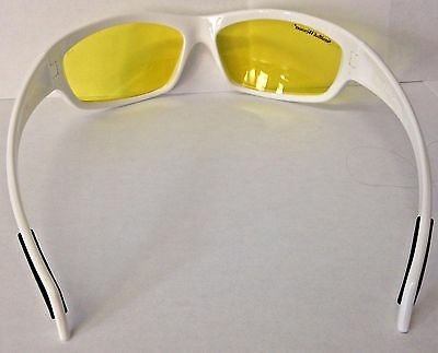 SMITH & WESSON SW103-40-ID White Frames Amber Lens Shooting Glasses ...
