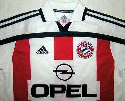 Adidas FC Bayern München Trikot Away 15 16 Gr. S weiss Munich Jersey Shirt Fan