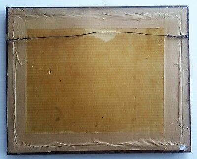 """Listed Canadian Artist - Otto Planding (1887-1967)  - W/C 10""""x 13.6"""" Signed. 4"""