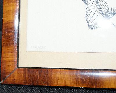 Lithographie - Spyros Alamanos - Le Pêcheur de Corfou - 35x27 cm - 1981 -124/125 2