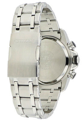Citizen Eco-Drive Men's A-T Chronograph Alarm Grey Dial 44mm Watch BY0100-51H 6