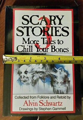 Scary Stories To Tell In The Dark Book Set Volume 1,2,3, Kids books New 4