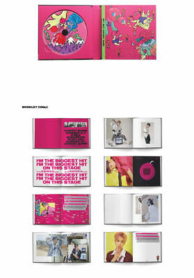 NCT #127 [CHERRY BOMB] 3rd Mini Album CD+Photo Book+Photo Card+GIFT CARD SEALED