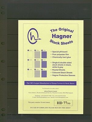 Hagner Double Sided Stamp Album Stock Pages 7
