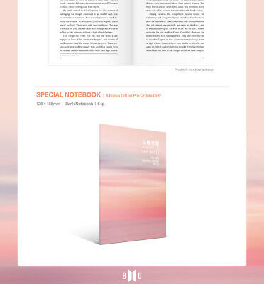 BTS-[花樣年華 The Notes 1 The Most Beautiful Moment In Life] ENG 230p Book+Gift 4