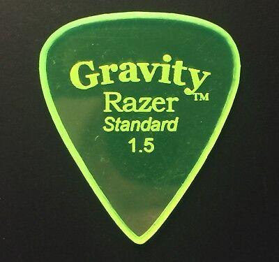 Gravity Picks Europe Classic Razer Sunrise Plectrum 3