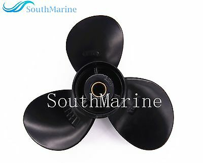 Aluminum Alloy Propeller 9 1/4x9 for Suzuki 9.9HP 15HP Outboard DT & DF9.9-15