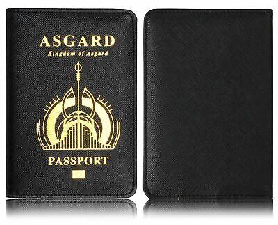 The Avenger Wakanda Hydra Hogwarts Passport Cover RFID Blocking Credit Card Case 9